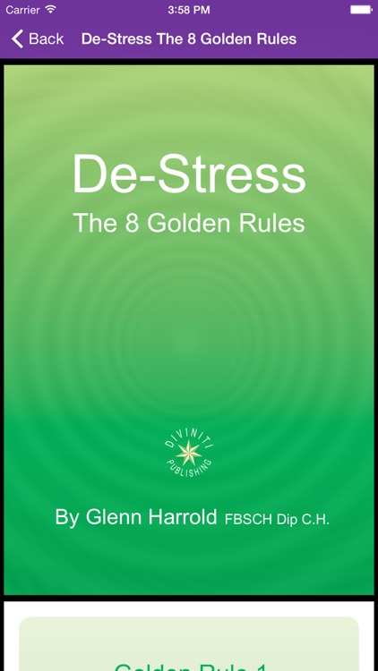 Deep Sleep by Glenn Harrold, a Self-Hypnosis Meditation for Relaxation screenshot-4