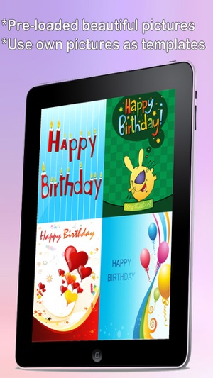 The ultimate happy birthday cards lite version custom and send the ultimate happy birthday cards lite version custom and send birthday greetings ecard with emoji text and voice messages on the app store bookmarktalkfo Image collections
