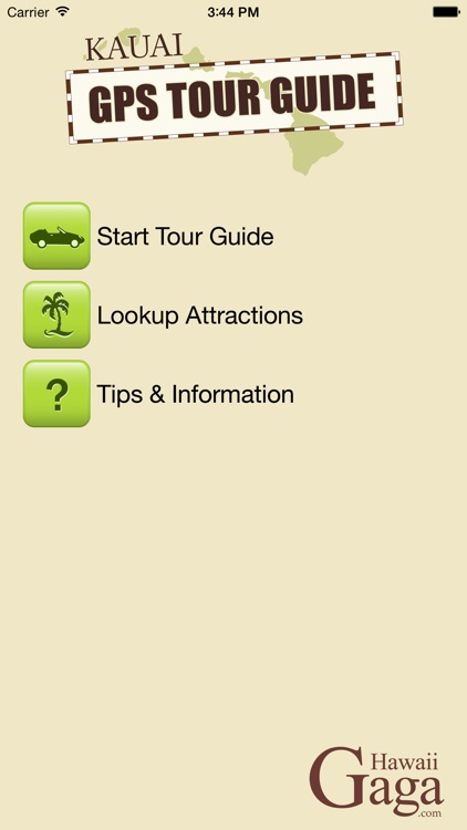 Kauai GPS Tour Guide