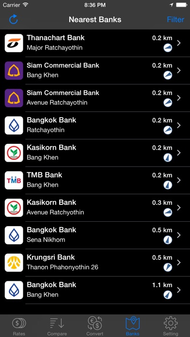 Thai Baht Exchange screenshot1