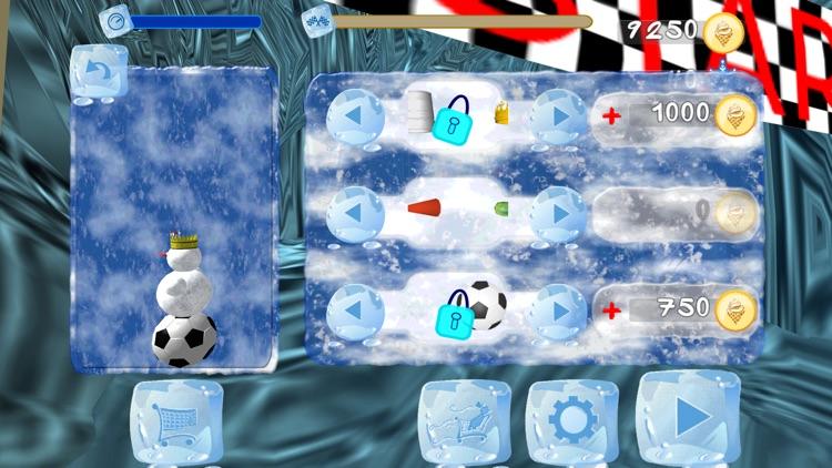 Snowman Race 3D