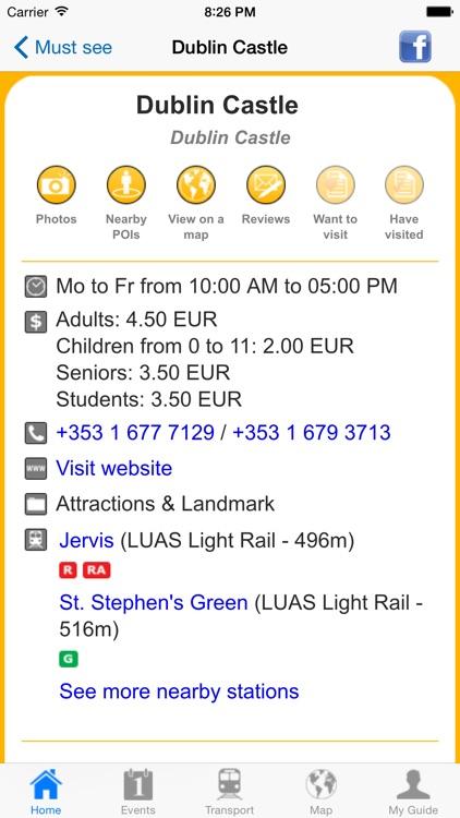 Dublin Travel Guide Offline screenshot-3
