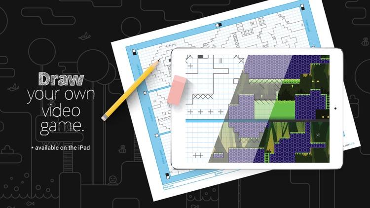 Pixel Press Floors: Draw Your Own Video Game screenshot-4