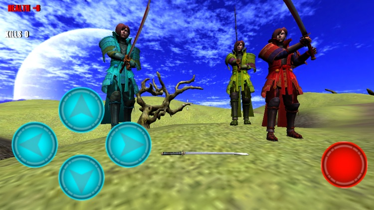 Samurai Hunter Rampage screenshot-1