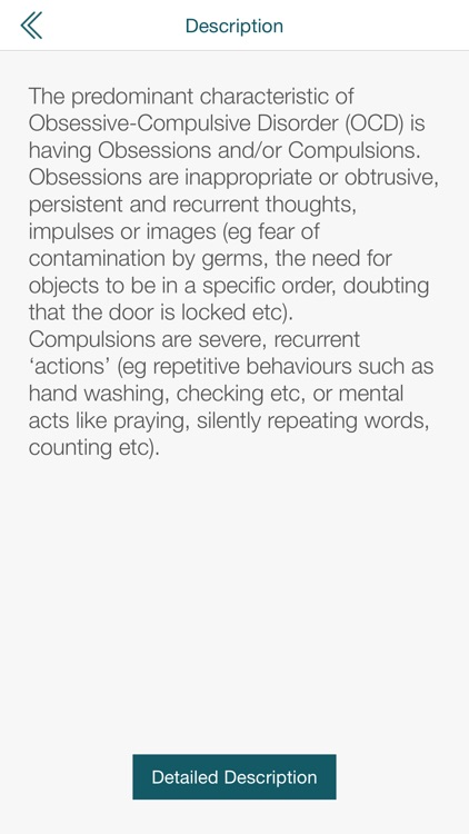 Obsessive Compulsive Disorder OCD Test By PocketShrink