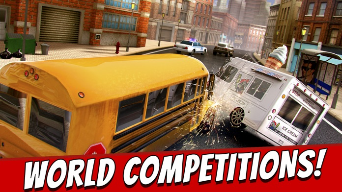 Top Bus Racing . Crazy Driving Derby Simulator Game For Free 3D Screenshot