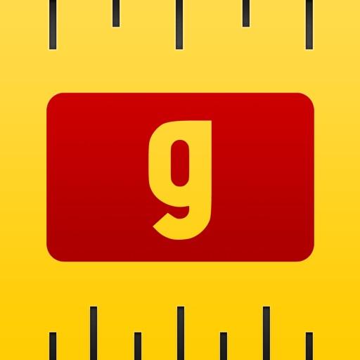 gUnit Lite - 無料の単位と通貨変換器