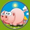 子どもたちは農場の動物を愛する - 無料ゲーム