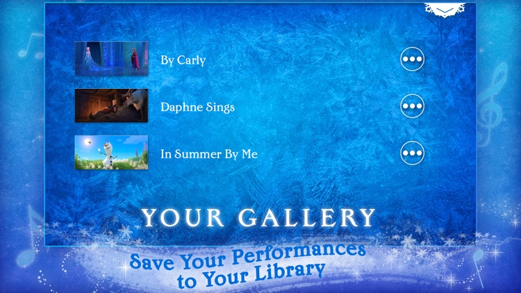 Disney Karaoke: Frozen screenshot-4