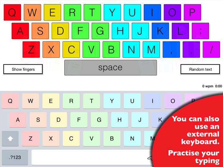 Ghost Type - a typing tutor to master your iPad typing skills screenshot-3