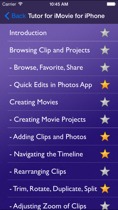 Tutor For Imovie For Iphone review screenshots