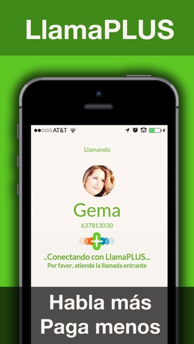 LlamaPLUS , Habla + paga - screenshot one