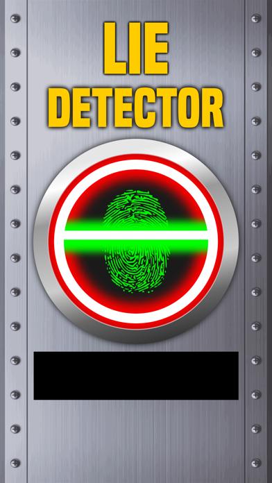 Lie Detector Fingerprint Scanner Truth or Lying Touch Test HD + screenshot one