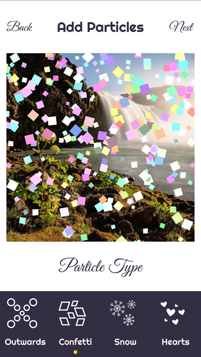 Particular - add particle effects to your photos screenshot one