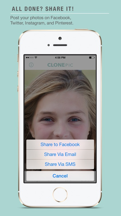 ClonePic - Retouch, Edit, and Share a Photo Instantly! screenshot-4