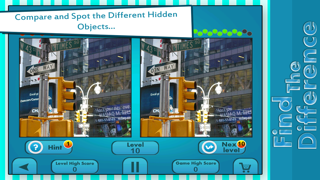 Find The Hidden Differences : Guess Hidden Difference : Kids Fun Hidden Object Puzzle Game : Spot Objects Family Puzzle screenshot four