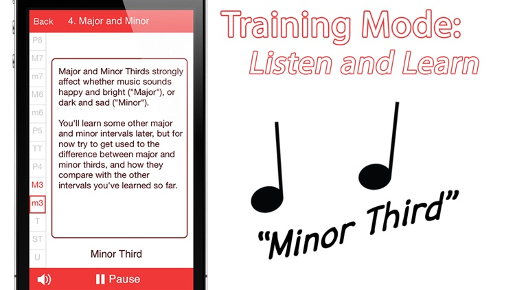 Relative Pitch Free Interval Ear Training - intervals trainer tool to learn to play music by ear and compose amazing songs screenshot-2