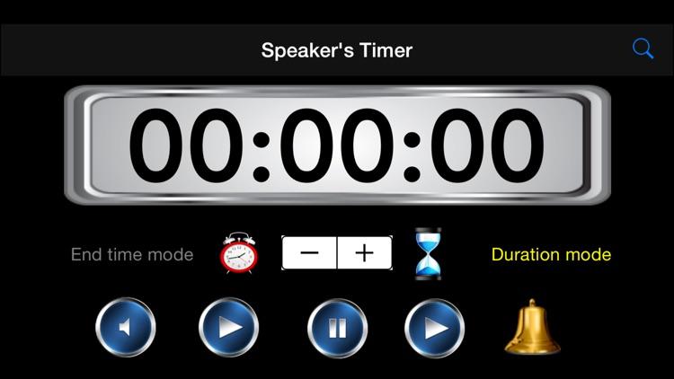 Speaker's Timer HD