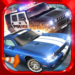 Police Chase Traffic Race Real Crime Fighting Road Racing Game