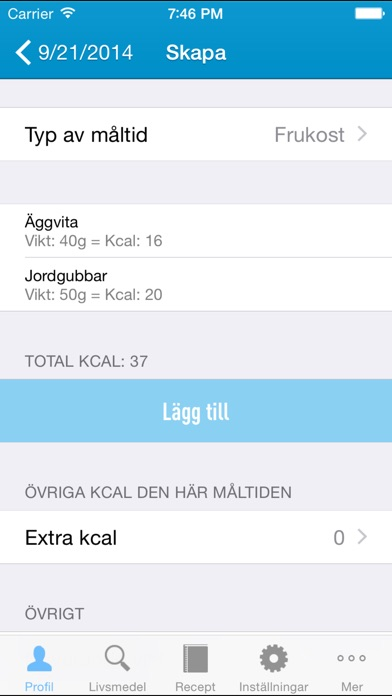 Screenshot for 5:2 dieten - recept, dagbok och hjälpmedel för bättre hälsa, viktminskning och en sundare livsstil in Sweden App Store
