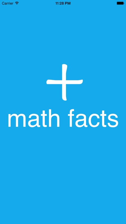 Math Facts Additions