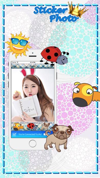 PhotoStar Sticker 2 : Fun Photo Editor screenshot four