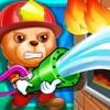 Fireman Hero - Animal Rescue & Fire House Kids Games