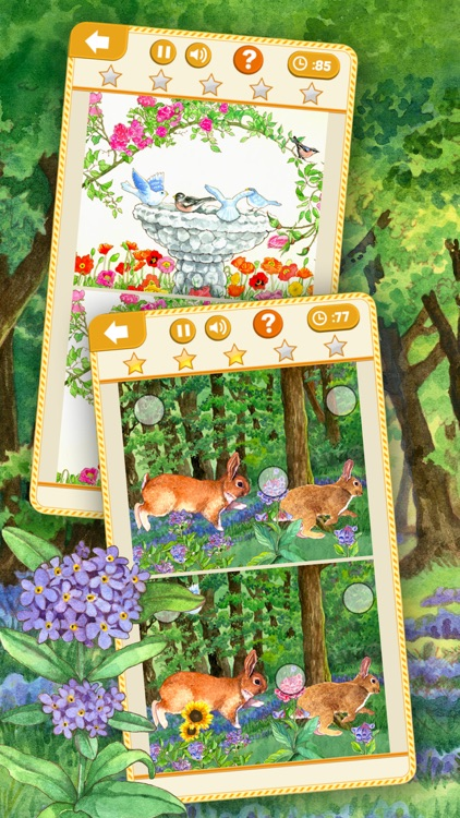 Find the Differences: Easter Bunny Free Edition Picture Search Game for Kids