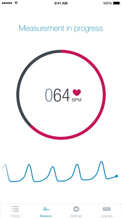 Heart Rate Monitor & Pulse Tracker by Runtastic app image