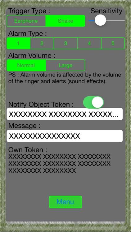 Self Defense Alarm Lite screenshot-3