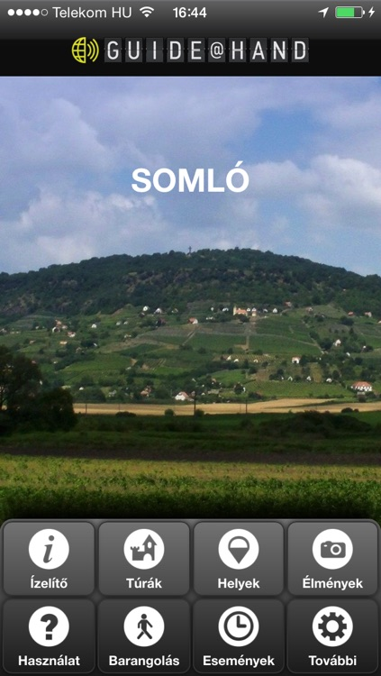 Somló GUIDE@HAND, Audio and Map screenshot-0