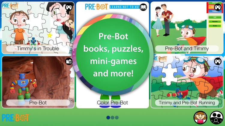 Pre-Bot - Learning Robot Friend for Children