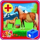 Cirugía embarazo Horse - mascota veterinario médico y hospital de juego de simulador para los niños icon