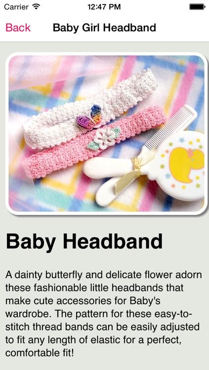 Babies Crochet Patterns screenshot-3