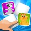 ABC 記憶ゲーム 子供のための - 学ぶ 森の動物との