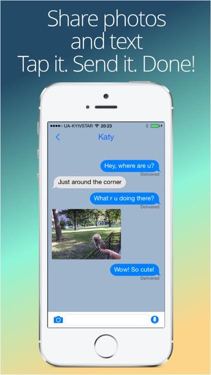 Vojer Messenger Light - secure Walkie Talkie to chat without Internet screenshot-4