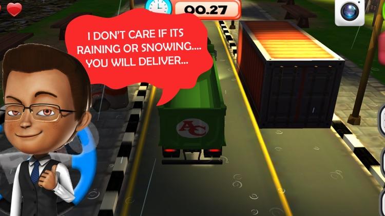 AAA Big Truck Parking Frenzy Simulator screenshot-4
