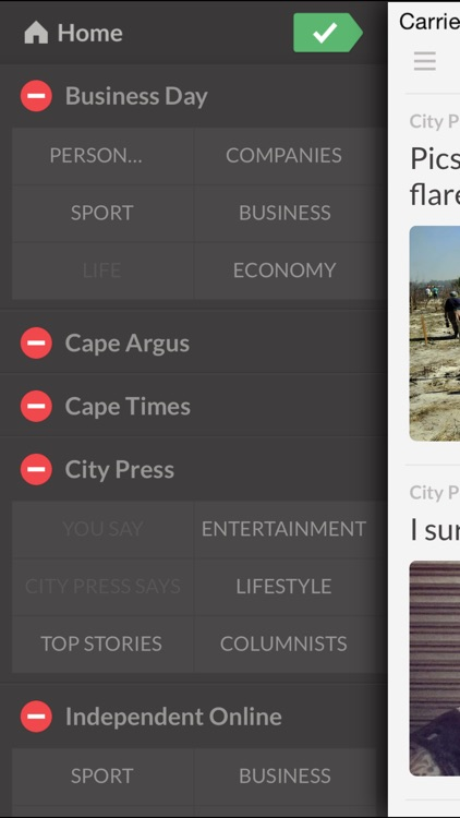 Newspapers ZA - The Most Important Newspapers in South Africa screenshot-2