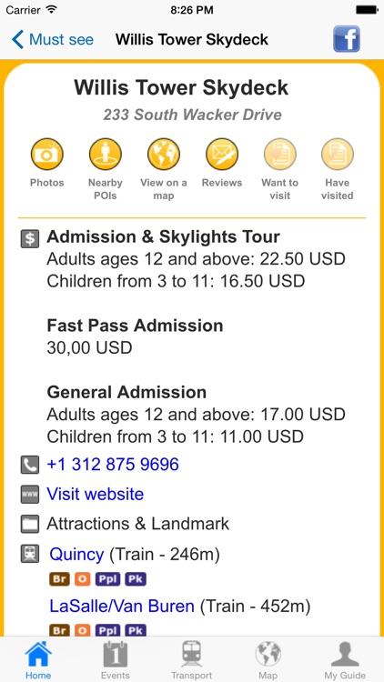 Chicago Travel Guide Offline screenshot-4