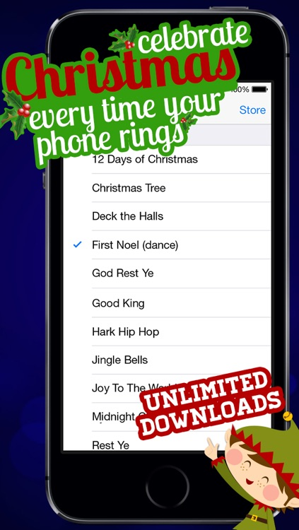 Christmas Jingle Tones - Holiday Ringtones and Text Tones screenshot-0