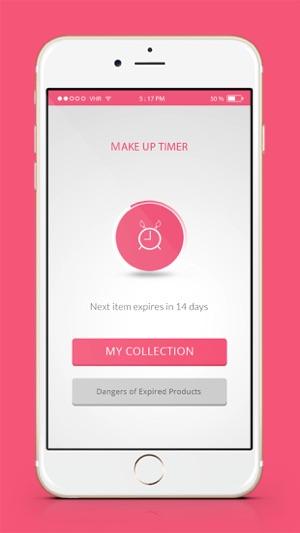Hết hạn mỹ phẩm App - Đếm ngược hẹn giờ