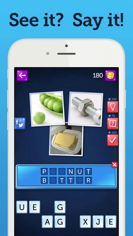 See It Say It - free guess the picture puzzle game. POP Pics quiz games 2014 Online Hack Tool