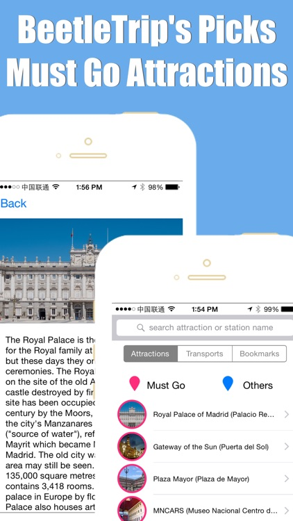 Madrid travel guide with offline map and España metro transit by BeetleTrip screenshot-3
