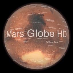 Mars Globe HD