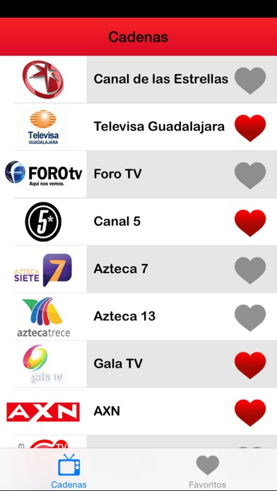 ► TV programación México: Mexicanos TV-canales Guía (MX) - Edition 2014 screenshot three