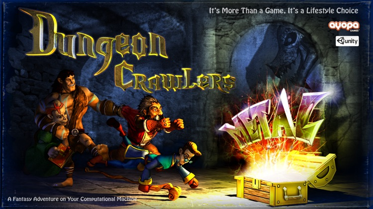 Dungeon Crawlers Metal screenshot-4