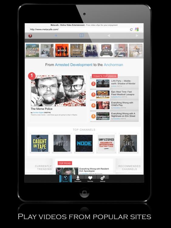 V-Downloader+ HD - Download & Play Online Videos