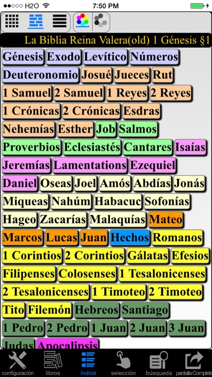 La Biblia Reina Valera (Spanish Bible) screenshot-2