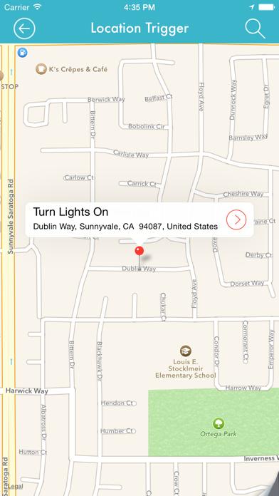 LIFTTT - Location Triggers for IFTTT screenshot two
