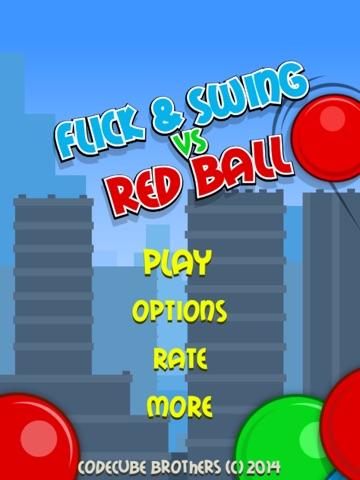 Flick & Swing vs Red Ball FREE-ipad-3